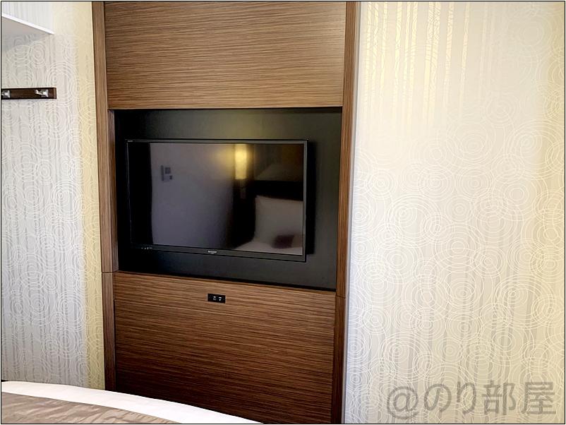リッチモンドホテルの部屋・客室のテレビ・VOD リッチモンドホテルプレミア東京押上の部屋がキレイでオススメ!スカイツリーが近くスーパーも近く快適!【評価・口コミ】