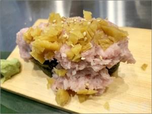 魚がし日本一 池袋 西口店は「ねぎとろたくこぼれ」が美味しくてオススメ!【寿司】「魚がし日本一 池袋西口店」が安くて美味しくてオススメ!気軽にお寿司と190円サワーでお手軽晩酌。