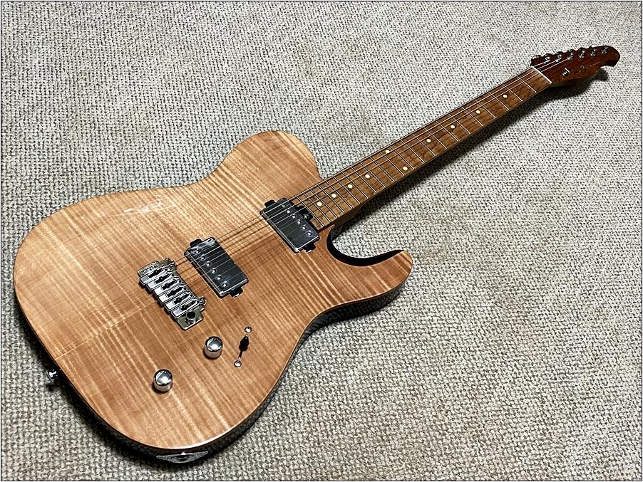 ギターの表 Harley Bentonのギターの全体 Harley Bentonのギターが圧倒的に良い!安くてコスパが良すぎました。【Fusion-T HH Roasted FNT Guitar】