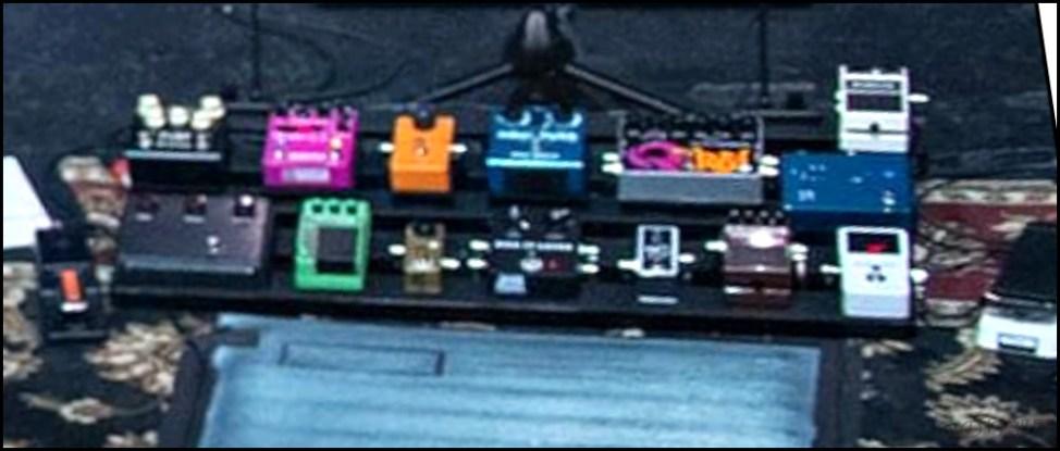 John Mayer(ジョンメイヤー)の機材・エフェクターボード