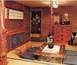 乗鞍高原温泉しろいこやの囲炉裏部屋