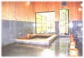 ペンションパルの浴室