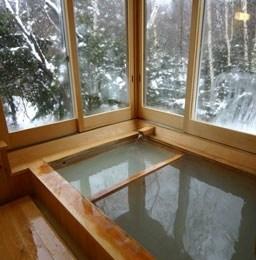 温泉宿湖藤荘 浴室