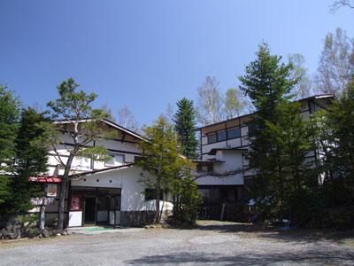滝見館の外観