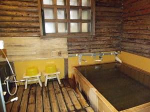 ペンショングリンデルワルトの浴室