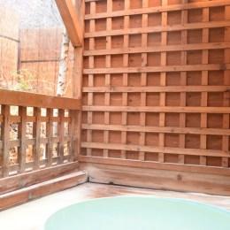 ペンションアルテリーベ・トムの露天風呂