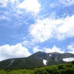 宝徳霊神近辺からの剣ヶ峰