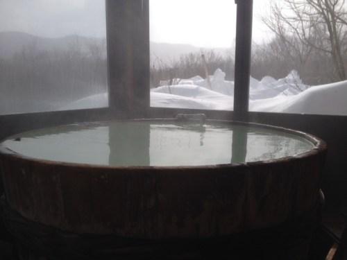 ペンションオレンジペコの露天風呂