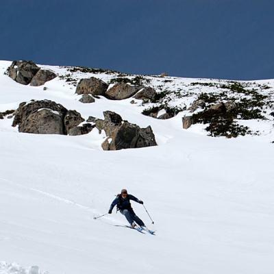 春山スキー