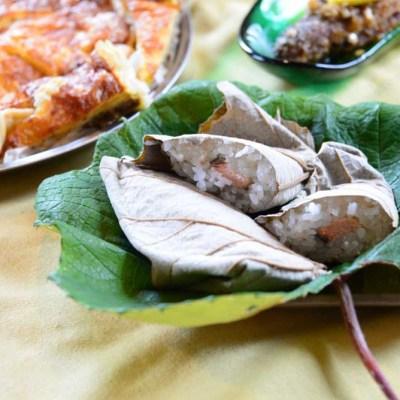 ぶどう葉寿司
