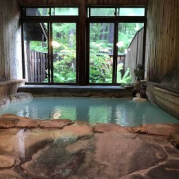 旅館みたけ荘の内湯