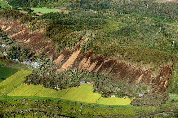 北海道 地震