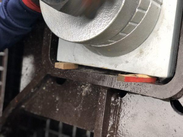 グラウンドアンカー工 補鋼板