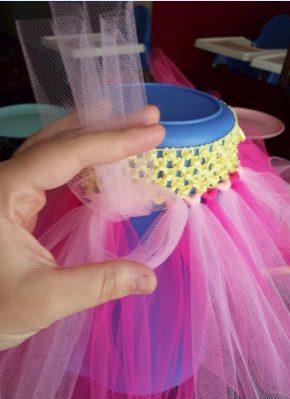 ハロウィン 子供 大人 仮装 簡単 安い 100均 水切りネット チュチュ