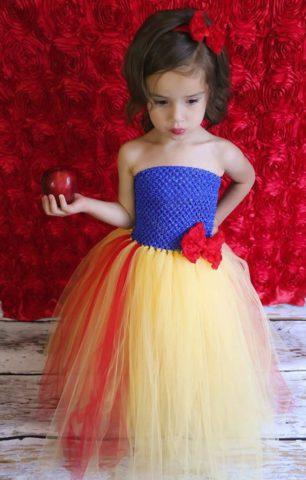 ハロウィン 子供 大人 仮装 簡単 安い チュチュ ディズニー 白雪姫