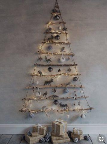 クリスマスツリー手作りおしゃれオーナメント100均2018
