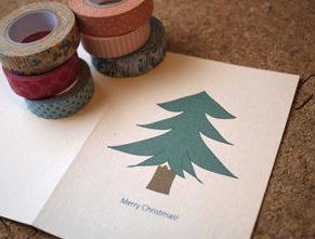 クリスマスカード簡単手作り彼氏におしゃれカードや飛び出す可愛いカード型紙