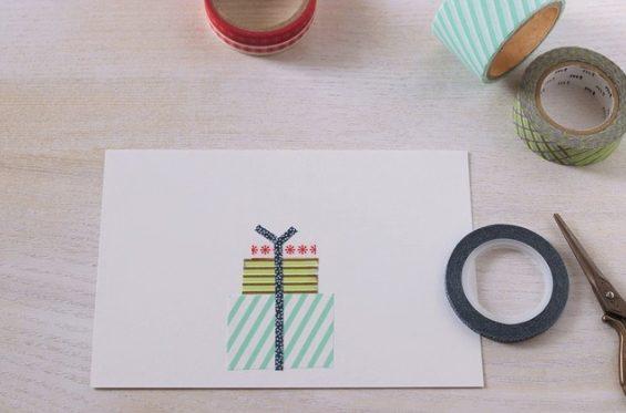 クリスマスカード簡単手作り彼氏におしゃれカードや飛び出す可愛いカードデコ