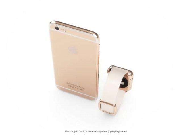 iPhoneローズゴールドEditionモデル
