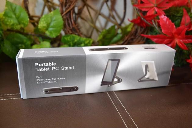 iPadとiPad mini用の折りたたみスタンドの箱