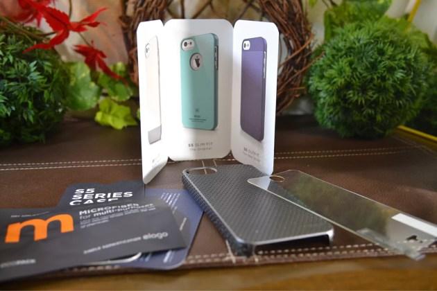 iPhone5s用のパンチングケースセット