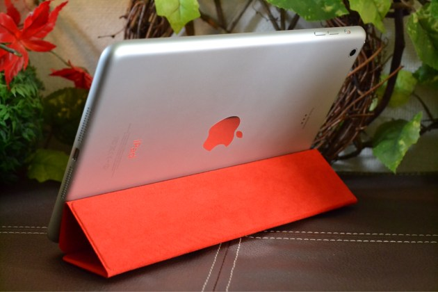 iPad mini Smart Cover - (PRODUCT) RED立て掛けスタイル3