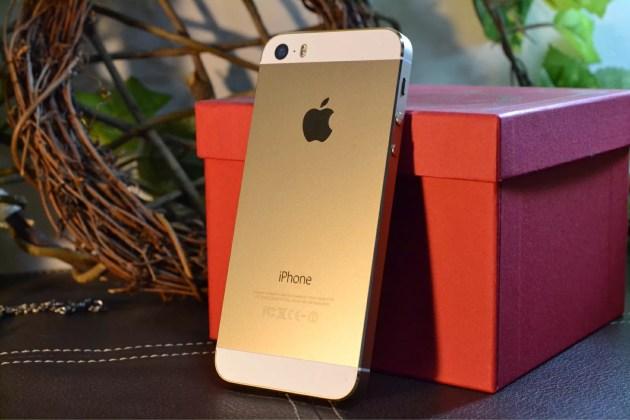 iPhone5sゴールド3