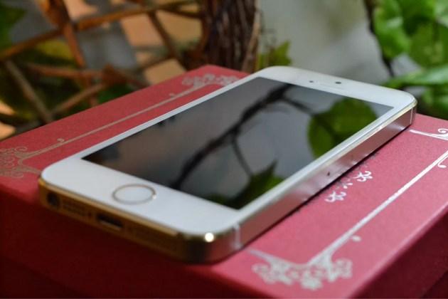 iPhone5sゴールド1