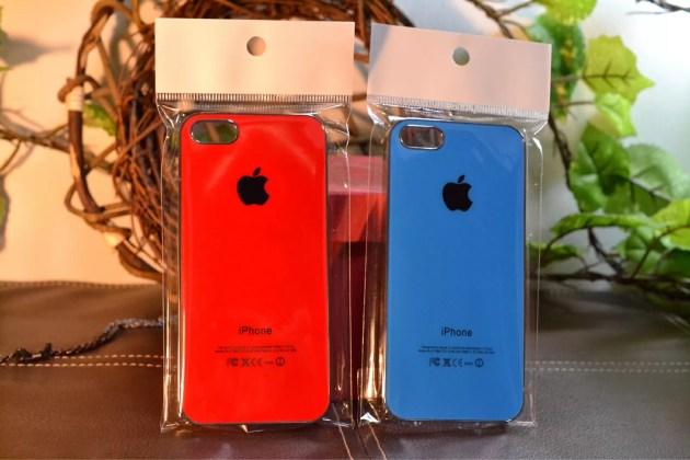 Appleマークの入った怪しいiPhone5sケースパッケージ