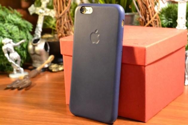 Apple純正iPhone6レザーケースレビュー1