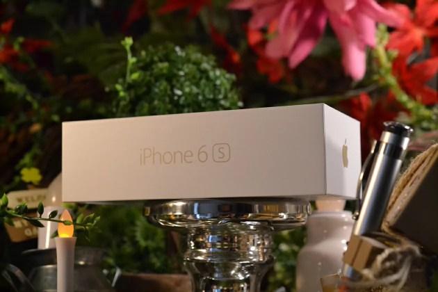 iPhone6sの開封の儀式