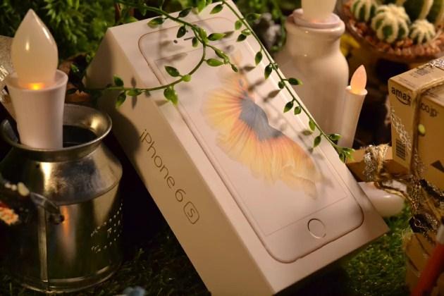 iPhone6sのパッケージ