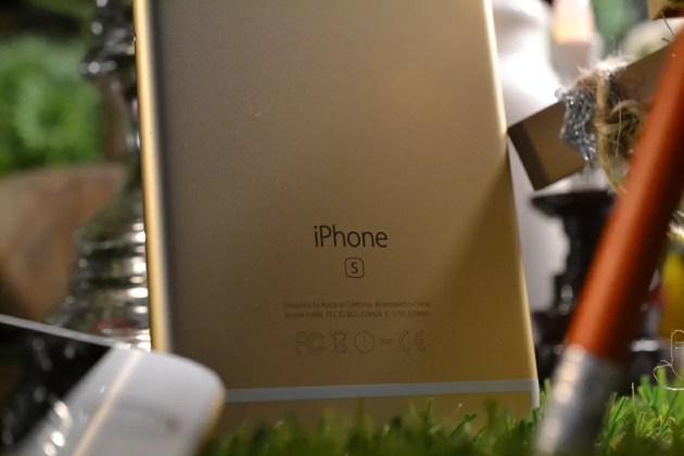 iPhone6s開封完了