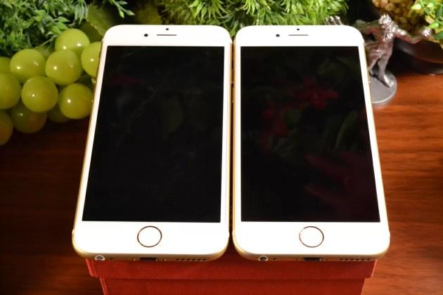iPhone6sと6の比較1