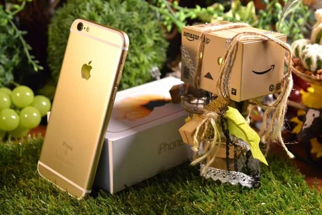 iPhone6sゴールドフォトレビュー
