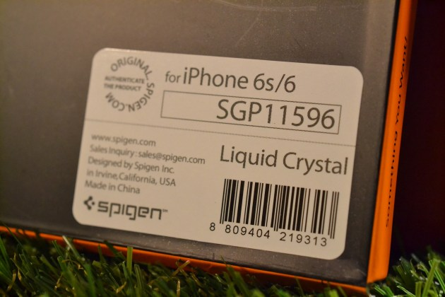 iPhone6sケースSpigenリキッドクリスタルレビュー2