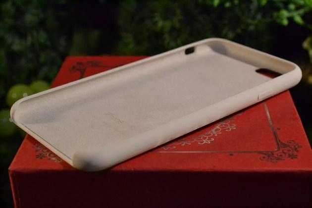 iPhone6s用Apple純正シリコンケースアンティークホワイトレビュー3