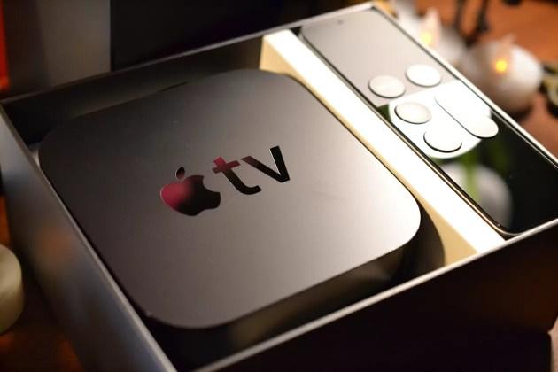 AppleTVの開封