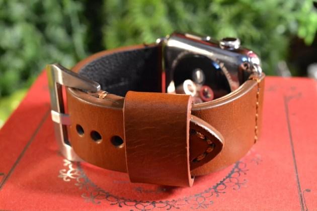 Apple Watchをパネライ風ベルトに3