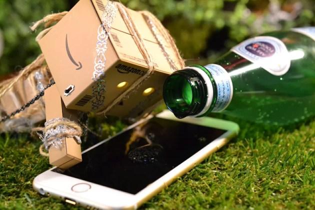 iPhone6sを防水加工してみた