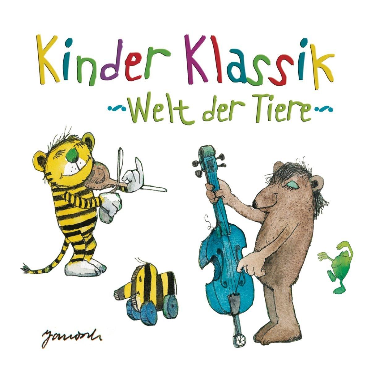 Kinder Klassik Welt der Tiere: Erkennst du Yo-Yo Ma am Cello?