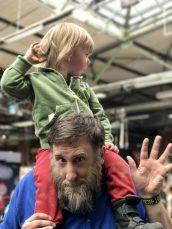 BestBuddys: Onkel Twiggy und Merlin auf der #rp17