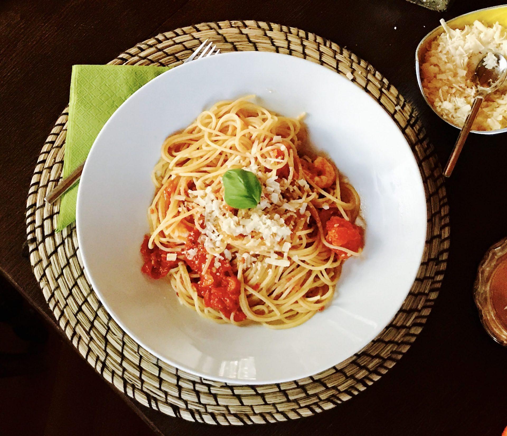 Rezept Pasta mit Tomatensago –Montis Pasta: Montis Pasta