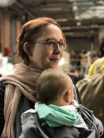Susanne Mierau auf der #rp17