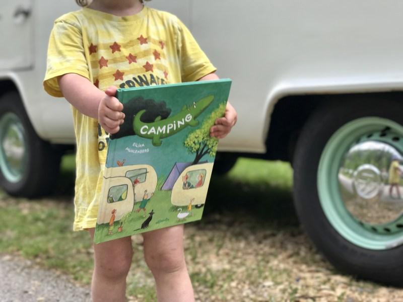 Wimpelbuch Camping für Kinder