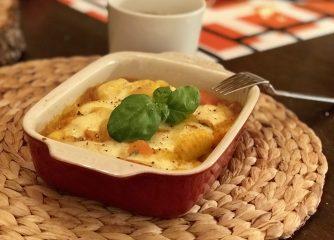 Ein vegetarisches Auflauf – perfektes Gnocchi Gericht für die ganze Familie