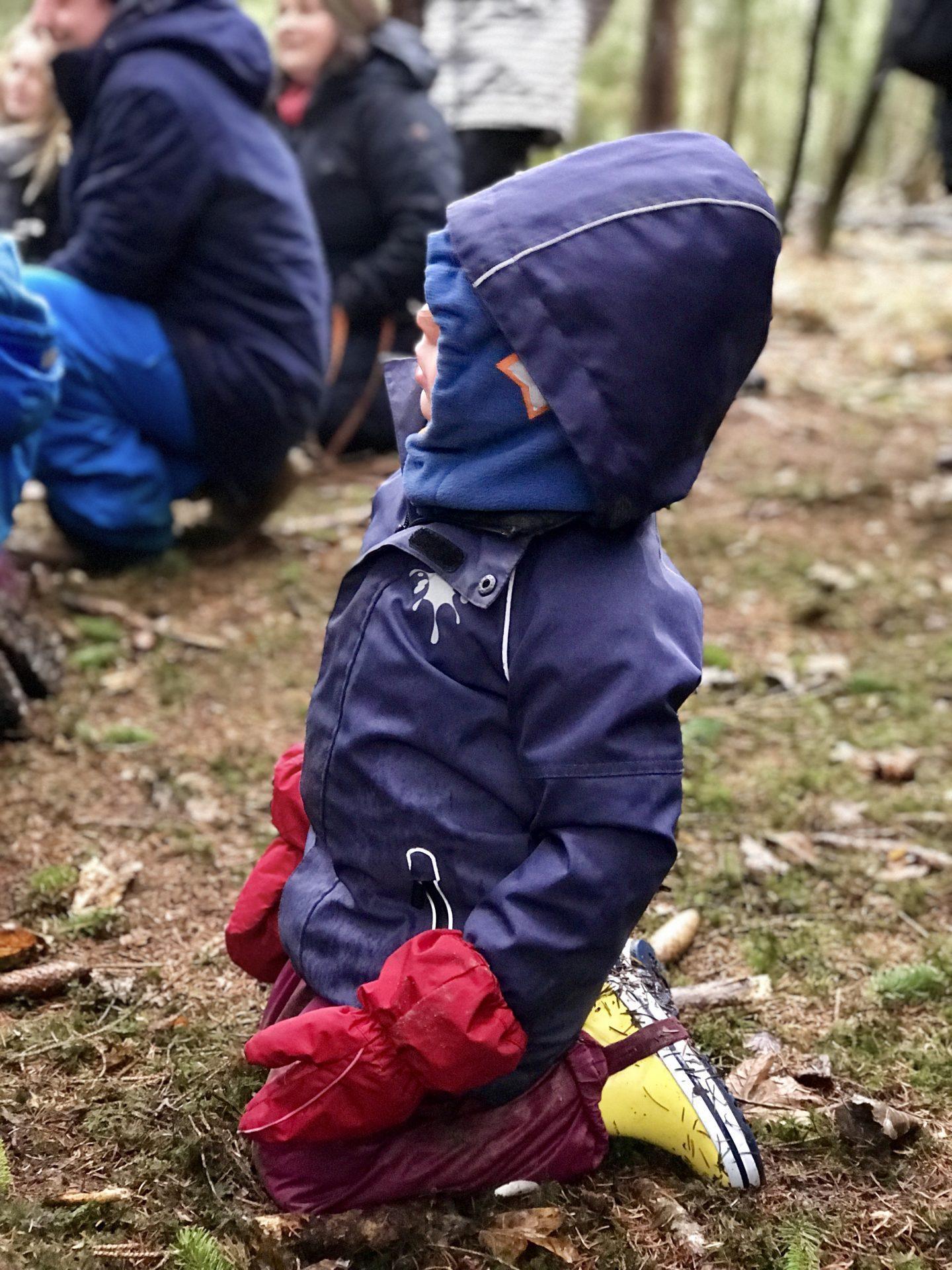 Risky Week 49 – Merlin im Naturkindergarten beim Nikolaus