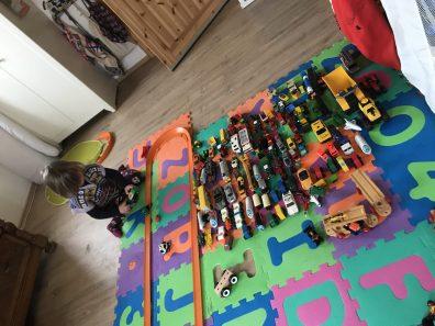 Risky Week 50 – viel Zeit zm Spielen mit Autos für Merlin