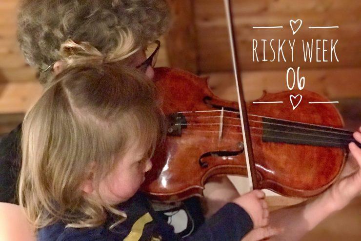 Risky Week 06 – Merlin spielt mit seiner Tante Bratsche