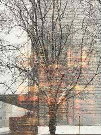 Risky Week 07 – Aussicht aus dem Gebäude der SZ im Winter